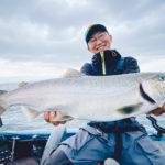 【釣って楽しい・食べて美味しい】平村ガイドで琵琶湖の固有種ビワマス釣りに挑戦!