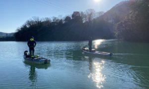 真冬の相模湖釣行! デコったけども楽しかった1日のお話。
